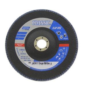 Flap Disc Classic 180 X 22 Grão 80 - Norton