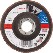 Flap Disc Curvo Best for Metal 115mm Grão 120 Bosch
