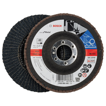 Flap Disc Curvo Best for Metal 115mm Grão 40 Bosch