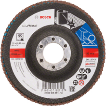 Flap Disc Curvo Best for Metal 115mm Grão 60 Bosch