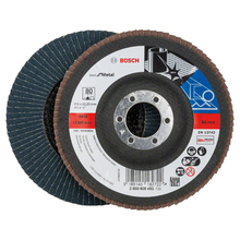 Flap Disc Curvo Best for Metal 115mm Grão 80 Bosch
