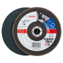 Flap Disc Curvo Best for Metal 180mm Grão 60 Bosch