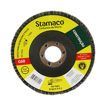 Flap Disco de Lixa 115x22mm Grão 60 Stamaco
