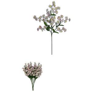 Flor Artifical Jasmim 42cm Lavanda Flor Arte