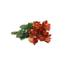 Flor de Corte Rosa 8 Hastes Maço
