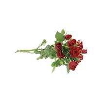 Flor de Corte Rosa Spray 3 Hastes Maço