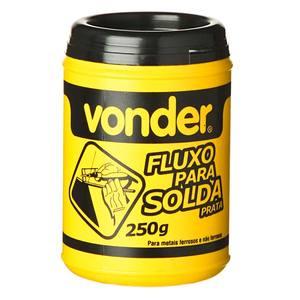 Fluxo prata para solda 250g em pasta Vonder