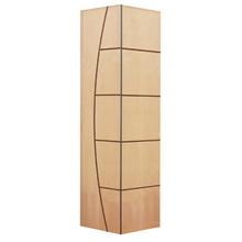Folha de Porta Camarão Decorada Madeira Curupixá Ambos os Lados 2,1x0,6m Settis