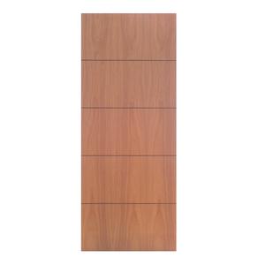 Folha de Porta de Giro Decorada de Madeira Pinus 2,10x0,60m Seiva Camilotti