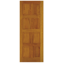 Folha de Porta de Giro Decorada de Madeira Eucalipto Custom 2,10x0,90m Cruzeiro