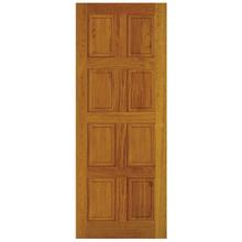Folha de Porta de Giro Decorada de Madeira Eucalipto Custom 2,10x0,92m Cruzeiro