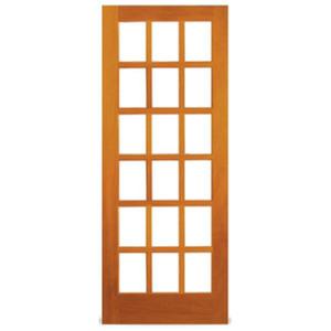 Folha de Porta de Madeira Angelim 2,10x0,82m Galon