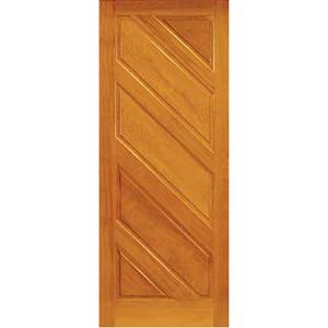 Folha de Porta Maciça Angelim 345 210x80 Galon