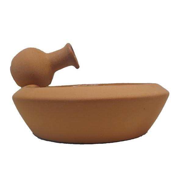 Fonte d 39 gua cer mica vaso barro terracota 20x12cm 250v for Vaso terracotta leroy merlin