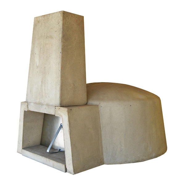Forno concreto refrat rio pr moldado d 39 n poli 90cm 11 for Forno leroy merlin