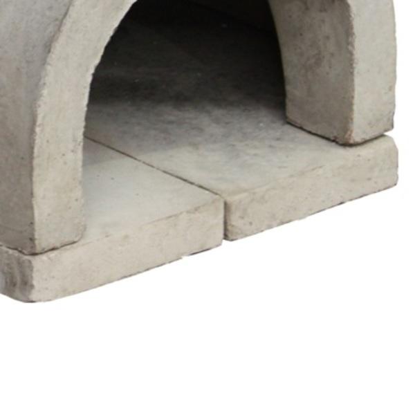 Forno de concreto pr moldado com frente artmill leroy for Forno leroy merlin
