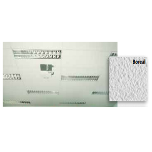 Forro em Lã de Vidro Forrovid Revestidos por PVC Microperfurados Boreal 1250x625cmx15mm Isover