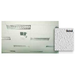 Forro em Lã de Vidro Forrovid Revestidos por PVC Microperfurados Boreal 1250x625cmx25mm Isover