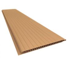 Forro Rígido de PVC Frisado Cerejeira 5m Real PVC