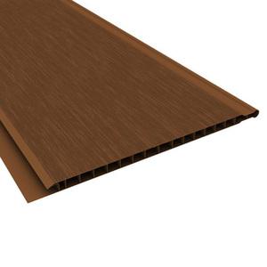 Forro Rígido de PVC Liso Marrom 6,00x0,20m Plasbil