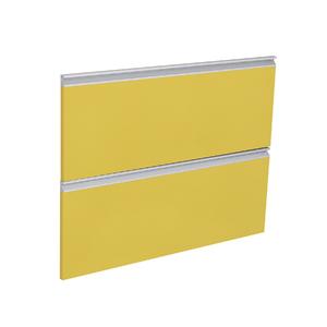 Frente 2 Gavetas Grenoble com Freio Cristallo Amarelo 2D81