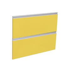 Frente 2 Gavetas Grenoble com Freio Cristallo Amarelo 2D91