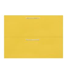 Frente 2 Gavetas Paris com Freio Cristallo Amarelo 2D90