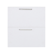 Frente 2 Gaveteiros Cristal Branco 70x59,7x50cm Nice Delinia