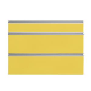 Frente 3 Gavetas Grenoble com Freio Cristallo Amarelo 3D81