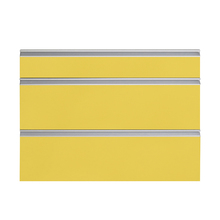Frente 3 Gavetas Grenoble com Freio Cristallo Amarelo 3D91
