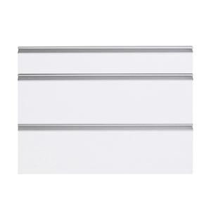 Frente 3 Gavetas Grenoble com Freio Cristallo Branco 3D90cm