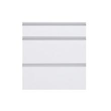 Frente 3 Gaveteiros Branco 70x59,7x50cm Grenoble Delinia