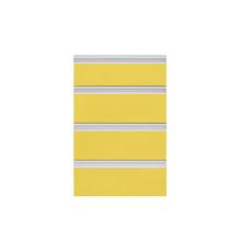 Frente 4 Gavetas Grenoble com Freio Cristallo Amarelo 4D41