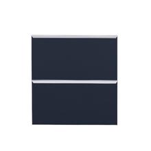 Frente de 2 Gaveteiros Dark Blue 70x59,7x50cm Lille Delinia