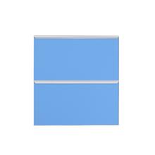 Frente de 2 Gaveteiros Light Blue 70x59,7x50cm Lille Delinia