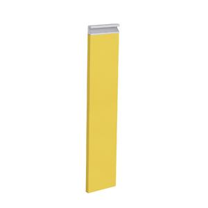 Frente Porta Tempero Cristal Amarelo 69,7x14,7x1,8cm Grenoble Delinia