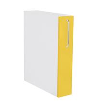 Frente Porta Tempero Cristal Amarelo 69,7x14,7x1,8cm Paris Delinia