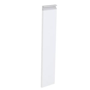 Frente Porta Tempero Cristal Branco 69,7x14,7x1,8cm Grenoble Delinia
