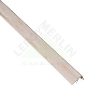 FRONTAL ESCADA PVC DECAPE BLANCHE COMP 210,00 CM LARG 2,20 CM ESPES 4,00 CM TECNO EUCAFLOOR