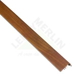 FRONTAL ESCADA PVC IPE REAL COMP 210,00 CM LARG 2,20 CM ESPES 4,00 CM TECNO EUCAFLOOR