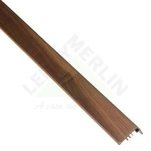 Frontal Escada PVC Tecno Cacau Marfim 2,10m Eucafloor