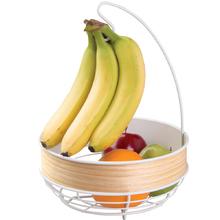 Fruteira com Suporte para Bananas Aço