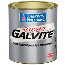 Fundo Especial Alquídico Super Galvite Fosco Branco Gelo 0,9L Sherwin Williams