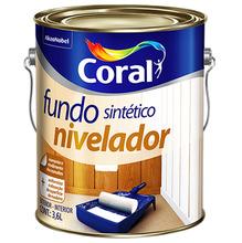 Fundo Nivelador Madeira 3,6L Coral