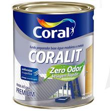 Fundo Preparado Coralit Zero Odor Fosco 3,6L