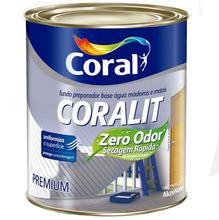 Fundo Preparado Coralit Zero Odor Fosco 900ml