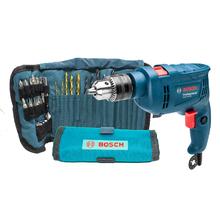 Furadeira de Impacto GSB 550 RE 550W 127V + 34 Acessórios Bosch