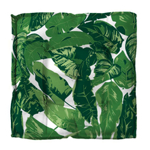 Futon Folhagem Verde 40x40cm