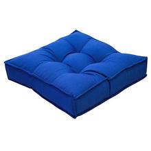 Futon Gorgurão Azul 45x45cm