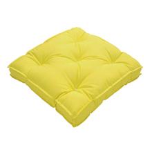 Futon Jardim Tecido Hidrorepelente Amarelo 50x50